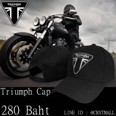 TRIUMPH Hats, curved wings TRIUMPH Black Hat No.cps-0027
