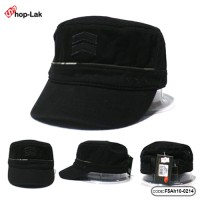 Black starfish shape beige cap, poly cotton Back Adjustable Size No F5Ah10-0214