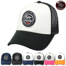 High quality Sponge mesh cap, back side, snapback side. Available in 6 colors. No.F5Ah15-0377