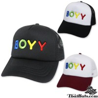 BOYY lace mesh cap with back snapback side. Available in 3 colors. No.F1Ah15-0320