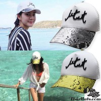 Fashionable Jacket cap, Jet Set, Snakeback Rear, SNAPBACK, Side No.F1Ah15-0376