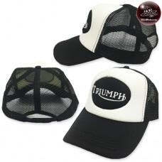 Triumph Mesh Cap Triumph Embroidery Sponge Black wings black mesh black Behind the SNAPBACK side. No.F5Ah15-0520