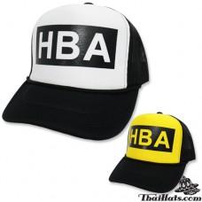 HBA CAP Hats CAP HID back net Snapback can be adjusted with 2 colors No.F5Ah15-0149