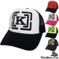 Sponge mesh netting pump K NET CAP rear Snapback can be adjusted with 5 colors No.F5Ah15-0156