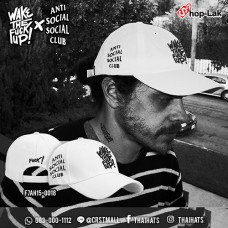 Fashion Cap  Belt Cap Embroidered Wake The Fuck Up # White No.F7Ah15-0018