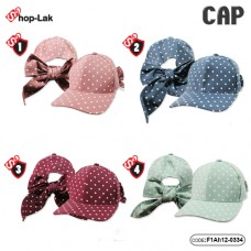 Cap on the back bow Bow cap Point Blanket Bow tie, back bow, product has 4 colors No.F1Ah15-0334