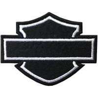 อาร์มปักลาย Harley   7x5.5 cm ติดเสื้อติดหมวก ติดสินค้าแฟชั่น งาน DIY เสื้อผ้า งานปักระเอียด No.F3Aa51-0005a055