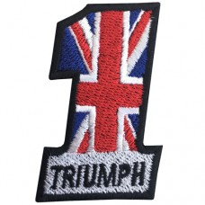 Triumph motorcycle Triumph motorcycles High quality embroidery No.F3Aa51-0007