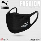 Black puma fabric with soft fabric inside.