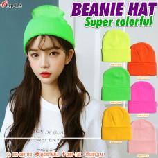 Beanie Hat, avant-garde silk hat, hot item for traveling in winter No.F5Ah14-0028