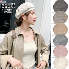 Foldable beret with soft fabric texture, chic Berat hat, chic French style, Parisian style, suitable for all looks No.F5Ah31-0077
