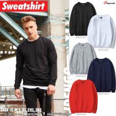 Sweatshirt Long-sleeved round neck T-shirt Flannel shirt. Blank shirt. Long sleeve. Comfortable to wear. American style. No.F5Cs01-0931