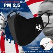 ผ้าปิดปากปิดจมูกป้องกันได้ดียิ่งขึ้นปรับสายได้ผ้าปิดปากเเนวใหม่ป้องกันฝุ่นให้ได้เป็นอย่างดีป้องกัน pm2.5&Corona ลายน่ารักF7Ac25-0113