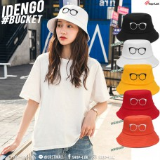 Bucket hat, embroidery hat, embroidery headband, year frame, IDENGO number F7Ah32-0135