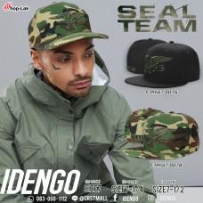 Hip hop hat, HIPHOP hat, Navy Seal Team pattern, hip hop hat, military end No.F7Ah47-0075