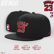 Full hip hop hat with JORDAN 23 pattern, American style, basketball, street hiphop hat, Street Basketball No.F7Ah47-0081