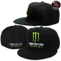Hip-hop cap Monster Energy Hat Hiphop size Hip-hop hat Monster Cap beautiful straight brim No.F7Ah47-0095
