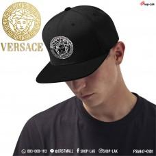 """หมวกฮิปฮอป ปัก """"versace """" ลวดลายเท่ห์ๆในสไตล์  HipHop SnapBack โลโก้คมชัด ลายเส้นสวยงาม No.F7Ah47-0101"""