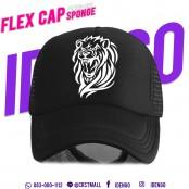 Flex mesh news cap is composed of cool, detailed flex work. F7Ah15-0114
