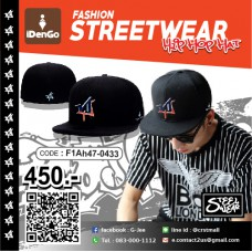 HIPHOP CAP HIPHOP NY / SW Black Hat No.F1Ah47-0433