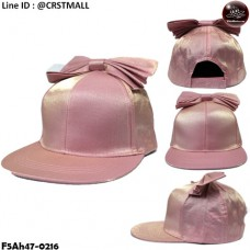 HipHop Cloth Cap HipHop hat, shiny pink hat, shiny bow tie No.F5Ah47-0216