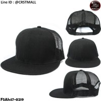 Hip Hop Hats Black Wing Straight Black No.F5Ah47-0219