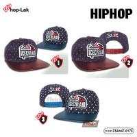 Hip hop hat ICECREAM pattern spot No.F5Ah47-0173