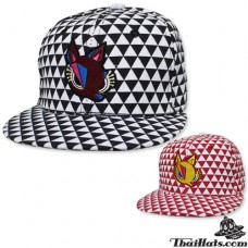"HipHop hat graphic ""fox"" Product has 2 colors No.F5Ah47-0142"