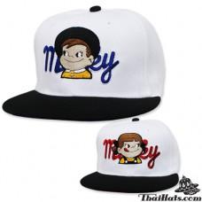 HipHop Milky Cap Cap White, Black Winged Boy's Shirt, 2 Colors Product No.F5Ah47-0145