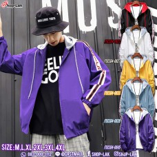 Hooded Jacket, Sports Jacket with hood to add effect to the shirt as well. 3-color colorful tab with 5 colors No. F5Cs04-0621