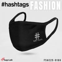 BLACK MASK  Hashtags  No.F5Ac25-0186
