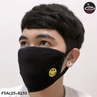 BLACK MASK  smile  No.F5Ac25-0153