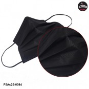 Black mask The filter has a good filter. No.F5Ac25-0084 ( 10 piece/pack)