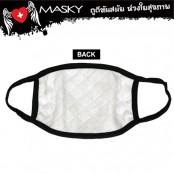 BLACK ROMAN MASK M   NO.F5Ac25-0350