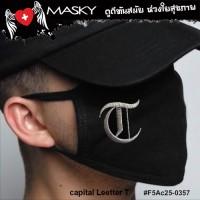 BLACK ROMAN MASK T   NO.F5Ac25-0357