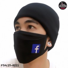 BLACK MASK FACEBOOK  NO.F5AC25-0221