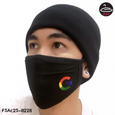 BLACK MASK  GOOGLE NO.F5AC25-0228