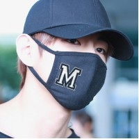 Black mask M  No.F5Ac25-0237