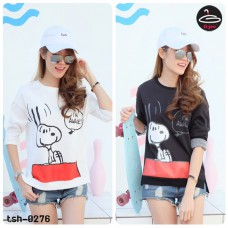 "Long sleeve shirt   Long Sleeve Shirt Screen "" snoopy ""  2 Colors No.tsh-0276"