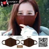 Brown city hunter mask, hygienic filter, micron filter