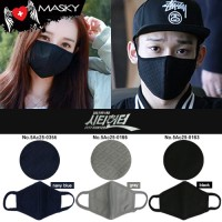 City hunter mask health mask micron air filter has 3 colors