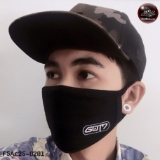 Black mask GOT7  No.F5Ac25-0201