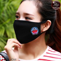 Black fabric Korean black fabric fashion. Black Nose Black glove Soft texture with soft filter inside. No.F5Ac25-0205