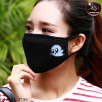 Black fabric Korean black fabric fashion. Black Nose Black gag Soft texture with soft filter inside. No.F5Ac25-0209
