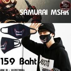 Fashion fabric Samurai mouth gag No.F5Ac25-0314