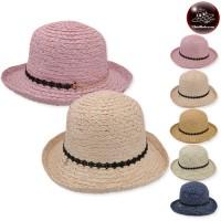 LADY LADY HANGER Women's Weave Hat has 5 colors No.F5Ah18-0070