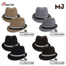 MJ Michael's hat, flannel band with 4 colors No.F5Ah12-0027