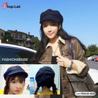 Hat, pumpkin, navy blue hat, newboys, pumpkin hat, velvet hats No.F5Ah30-0026