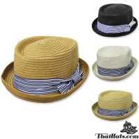 Michael fedora hat nature hat, weave the front, there are 4 colors No.F1Ah12-0053