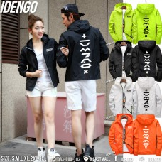 Long sleeve jacket Reflective cloth zipper jacket Neon coat Reflective jacket Flex IDENGO No.F7Cs04-0122